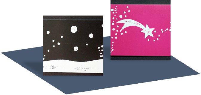 Wwf Weihnachtskarten.3 X 1 Towel Angel In Blue And Red